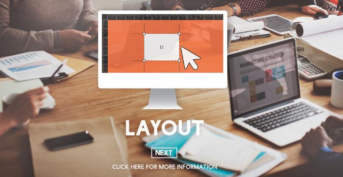 Lay Out Creative Design Plan Blueprint Creative Concept